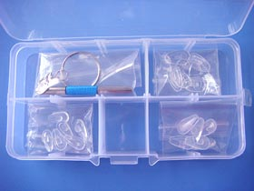 eyeglass repair kit for air active nose pads,push on