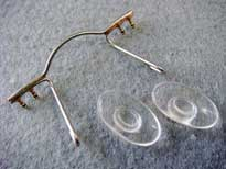 memory bridge for eyeglass