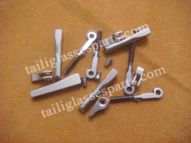 2.0mm width eyeglass spring hinges,spring hinges for eyeglass
