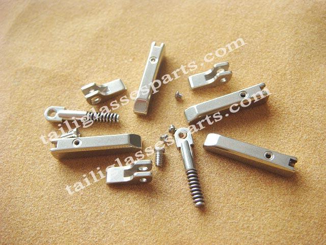 2 6mm hinge for eyeglass 2 6mm high nickel hinge