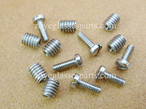 stainless steel spacers nuts for eyeglass hinge installing